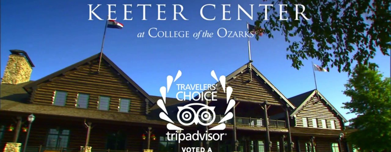The Keeter Center at Collage of the Ozarks, Voted a top small motel in the U.S. tripadvisor